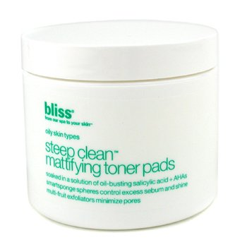 Bliss-Steep Clean Mattifying Toner Pads