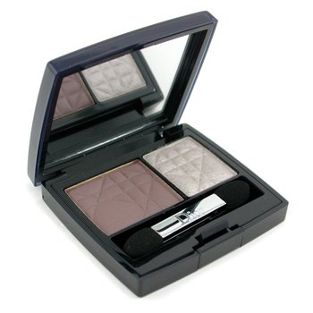 Christian Dior-2 Color Eyeshadow ( Matte & Shiny ) - No. 775 Silver Look