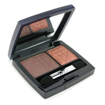 Christian Dior-2 Color Eyeshadow ( Matte & Shiny ) - No. 695 Bronzy Look