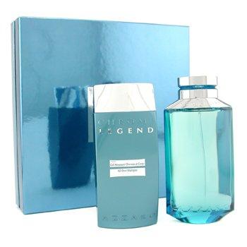 Loris Azzaro Chrome Legend Coffret: Eau De Toilette Spray 125ml/4.2oz + All Over Shampoo 200ml/6.8oz  2pcs