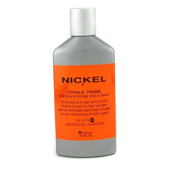 Nickel-Totale Frime Self-Absorbed Oil For Body Tanning & Hair SPF 6