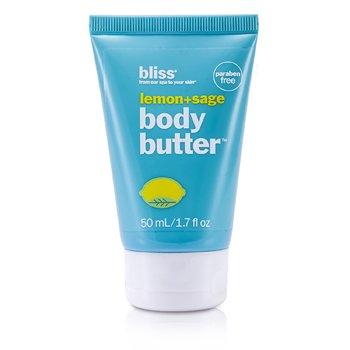 BlissLemon + Sage Body Butter 50ml/1.7oz