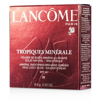 LancomeTropiques Minerale Mineral Smoothing Bronzing Powder SPF 10 - # 02 Ocre Cuivree 9.5g/0.33oz