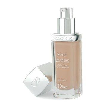 Christian Dior-Diorskin Nude Natural Glow Hydrating Makeup SPF 10 - # 022 Cameo