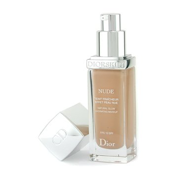 Christian Dior-Diorskin Nude Natural Glow Hydrating Makeup SPF 10 - # 031 Sand