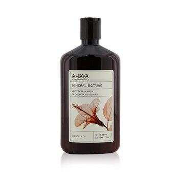 Ahava Mineral Botanic Velvet Cream Wash - Hibiscus & Fig (Very Dry Skin) 500ml/17oz