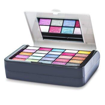 Cameleon MakeUp Kit G1697-1: (25x EyeShadow, 4x Compact Powder, 6x Blusher, 6x Lipgloss, 1x Mascara....)