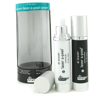 Dr. Brandt-Laser-A-Peel System: Peeling Lotion 50g + Soothing Gel 50g