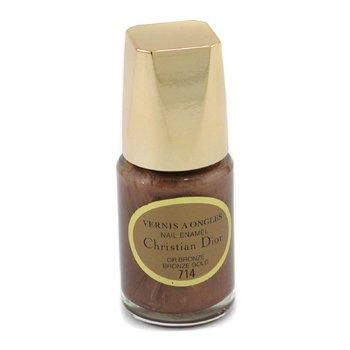 Christian Dior-Nail Enamel - No. 714 Bronze Gold