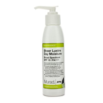 MuradSheer Lustre Day Moisture SPF15 (Salon Size) 100ml/4oz