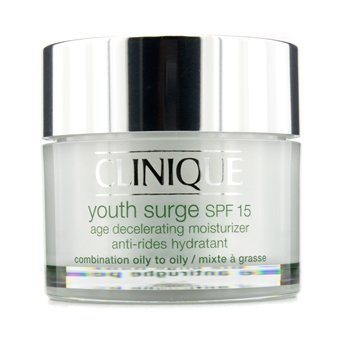 Clinique-Youth Surge SPF 15 Age Decelerating Moisturizer - Combination Oily to Oily