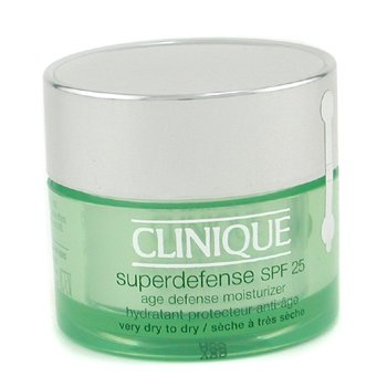 Clinique-Superdefense Age Defense Moisturizer SPF 25 ( Very Dry To Dry )