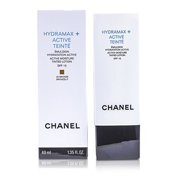 Chanel Hydramax Active Moisture Tinted Lotion SPF 15 - # 20  40ml/1.35oz