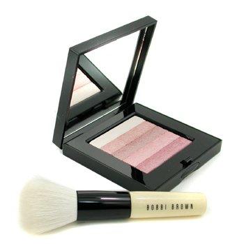 Bobbi Brown-Pink Shimmer Brick Set: Pink Shimmer Brick Compact + Mini Face Blender Brush ( Limited Edition )
