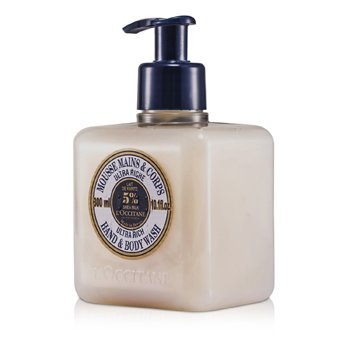 L'OccitaneShea Butter Ultra Rich Pembersih Tangan & Tubuh 300ml/10.1oz