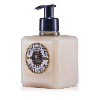 L'OccitaneMousse de banho de manteiga de Karite Ultra Rich Corpo e m�os 300ml/10.1oz