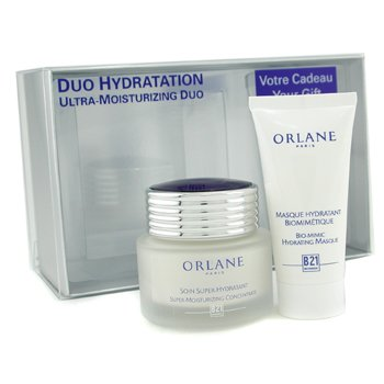 Orlane-Duo Hydratation: Super Moisturizing Concentrate 50ml + Bio-Mimic Hydrating Masque 30ml