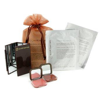 Scott Barnes-Makeup Set: 2x Lip Slick+ 2x Hydrating Mask+ 1x Flipout Mirror