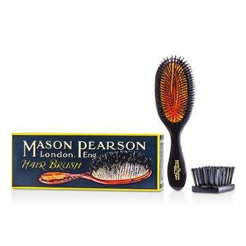 Mason PearsonBoar Bristle - Handy Bristle Pure Bristle Handy Size Hair Brush (Dark Ruby) 1pc