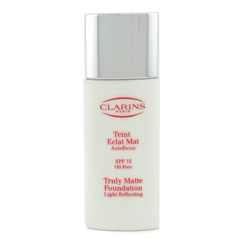 Clarins-Truly Matte Foundation Light Reflecting SPF15 - # 2.5 Biscuit