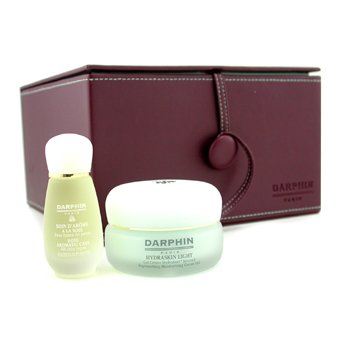 Darphin-Darphin Set: Hydraskin Light 50ml + Rose Aromatic Care 15ml