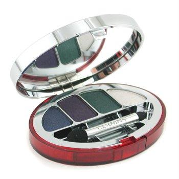 Clarins-Colour Quartet For Eyes - No. 100 Elegance