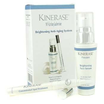 Kinerase-Brightening Anti-Aging System: Face Serum 30ml + Concentrated Spot Treatment 3.5ml