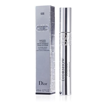 Christian Dior-Diorshow Iconic Extreme Waterproof Mascara - # 698 Brown