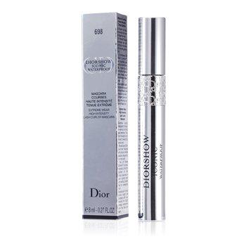 Christian Dior Diorshow Iconic Extreme Waterproof Mascara - # 698 Brown  8ml/0.27oz
