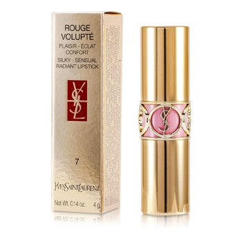 Yves Saint LaurentRouge Volupte ( Pintalabios Sensual Radiante Sedoso SPF 15 ) - No. 07 Lingerie Pink 4g/0.14oz