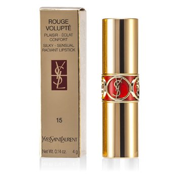 Yves Saint Laurent-Rouge Volupte ( Silky Sensual Radiant Lipstick SPF 15 ) - No. 15 Extreme Coral