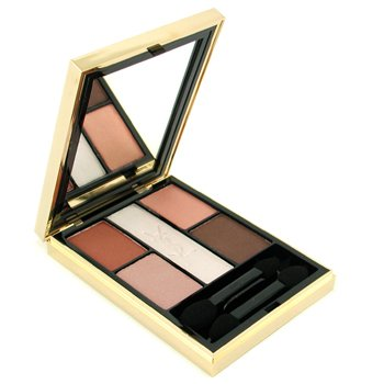 Yves Saint Laurent-Ombres 5 Lumieres ( 5 Colour Harmony for Eyes ) - No. 01 Sahara