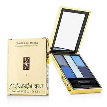Yves Saint Laurent-Ombres 5 Lumieres ( 5 Colour Harmony for Eyes ) - No. 05 Riviera