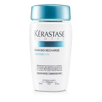 BioticKerastase Biotic Bain Bio-Recharge Shampoo (Combination Hair) 250ml/8.5oz