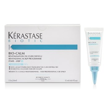 BioticKerastase Biotic Bio-Calm Hydrating Cleanser for Dry Scalps 15x20ml