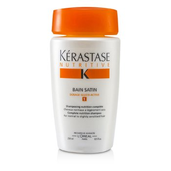 NutritiveKerastase Nutritive Bain Satin 1 Shampoo (Normal to Slightly Sensitised Hair) 250ml/8.5oz