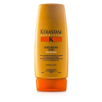 Nutritive Oleo-RelaxKerastase Nutritive Oleo-Relax Slim Smoothing Cream (Dry & Rebellious Hair) 200ml/6.8oz