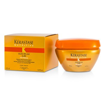 Nutritive Oleo-RelaxKerastase Nutritive Oleo-Relax Slim Smoothing Masque (Dry & Rebellious Hair) 200ml/6.8oz