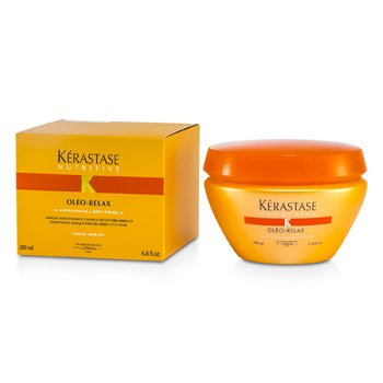 Nutritive Oleo-RelaxKerastase Nutritive Oleo-Relax Smoothing Mask (Dry & Rebellious Hair) 200ml/6.8oz