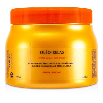Nutritive Oleo-RelaxKerastase Nutritive Oleo-Relax Smoothing Mask (Dry & Rebellious Hair) 500ml/16.7oz