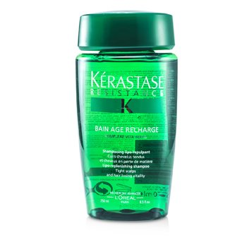 Kerastase Kerastase Resistance Bain Age Recharge Shampoo (For Tight Scalps & Hair Losing Vitality)  250ml/8.5oz