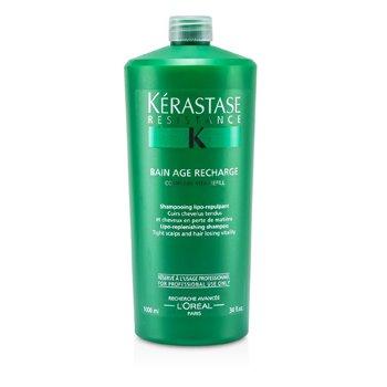 KerastaseKerastase Resistance Bain Age Recharge Shampoo (For Tight Scalps & Hair Losing Vitality) 1000ml/34oz
