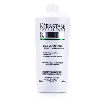 KerastaseSpecifique Bain Clarifant Long Lasting Regulating Shampoo (For Oily Scalp & Hair) 1000ml/34oz