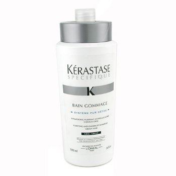 KerastaseSpecifique Bain Gommage Purifying Champ� Anti-caspa Purificante ( Cabello Graso ) 1000ml/34oz