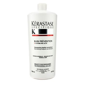KerastaseSpecifique Bain Prevention Frequent Use Shampoo (Normal Hair) 1000ml/34oz