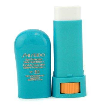 Shiseido-Sun Protection Stick Foundation SPF30 - # Transparent