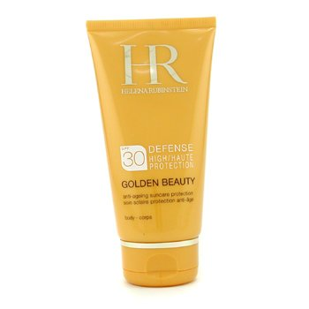 Helena Rubinstein-Golden Beauty Defense Medium Protection SPF 30 For Body