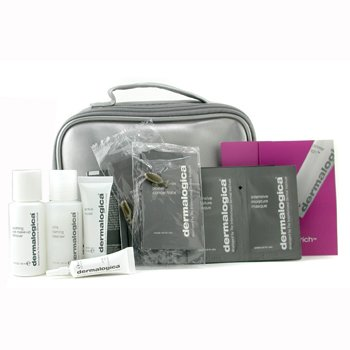 Dermalogica-Travel Set: Cleansing Solution + Eye MU Remover + Toner + Eye Repair + 4x Concentrate + 4x Microfoliant...