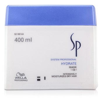 WellaSP Hydrate Mask (Intensively Moisturises Dry Hair) 400ml/13.33oz