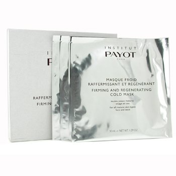 PayotMasque Froid Firming & Regenerating Cold Mask - For Mature Skin (Salon Size) 10pcs